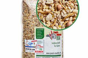 51V7c+lNjLL 310x205 - Paul´s Mühle Wildvogelfutter, Vogelfutter für Wildvögel, Deluxe, 5 kg