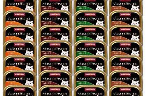 Animonda Vom Feinsten Adult Nassfutter für ausgewachsene Katzen Geflügel-Kreation Mix, 32 x 100 g