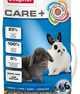 beaphar care kaninchen kaninchenfutter mit alfalfa aus bergwiesen foerdert den gesunden zahnabrieb niedriger fettgehalt 5 kg beutel 283x330 - beaphar Care+ Kaninchen | Kaninchenfutter mit Alfalfa aus Bergwiesen | Fördert den gesunden Zahnabrieb | Niedriger Fettgehalt | 5 kg Beutel