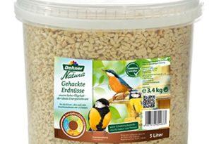 dehner natura wildvogelfutter gehackte erdnusskerne 5 l 3 4 kg 310x205 - Dehner Natura Wildvogelfutter, gehackte Erdnusskerne, 5 l (3.4 kg)