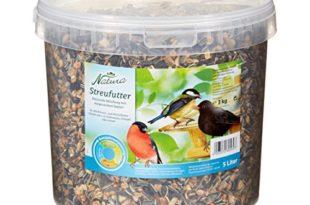 dehner natura wildvogelfutter streufutter im eimer 3 kg 310x205 - Dehner Natura Wildvogelfutter, Streufutter im Eimer, 3 kg