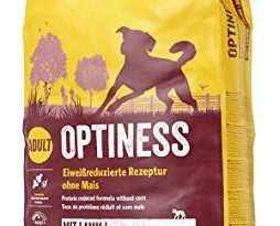 JOSERA Optiness (1 x 15 kg) | Hundefutter mit eiweißreduzierter Rezeptur ohne Mais | Super Premium Trockenfutter für ausgewachsene Hunde | 1er Pack