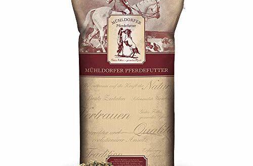 Mühldorfer Kräuter Müsli, 20 kg, bei Husten und Atemwegsbeschwerden, ideale Rationsergänzung, mit wertvoller Kräutermischung, Futter für alle Pferde