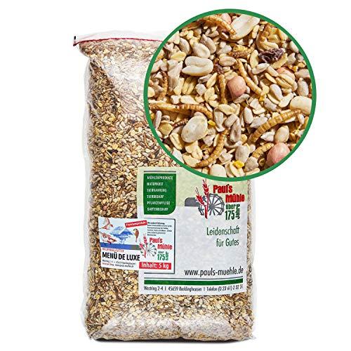 Paul´s Mühle Wildvogelfutter, Vogelfutter für Wildvögel, Deluxe, 5 kg