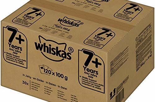 whiskas 7 katzenfutter hochwertiges nassfutter fuer gesundes fell feuchtfutter in verschiedenen geschmacksrichtungen 500x330 - Whiskas 7 + Katzenfutter, Hochwertiges Nassfutter für gesundes Fell, Feuchtfutter in verschiedenen Geschmacksrichtungen