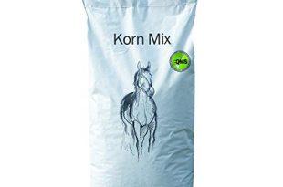 Eggersmann Korn Mix Ergaenzungsfuttermittel fuer Freitzeit und Sportpferde 310x205 - Eggersmann Korn Mix - Ergänzungsfuttermittel für Freitzeit- und Sportpferde - Haferfreie Körnermischung - 30 kg Sack