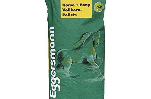 Eggersmann Horse & Pony Vollkorn Pellets 6 mm - Pferdefutter ohne Hafer - Eiweiß- und energiereduziert - 25 kg Sack